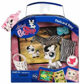 Littlest Pet Shop Series 1 Postcard Pets Zebra
