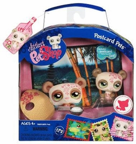 Littlest Pet Shop Series 1 Postcard Pets Panda