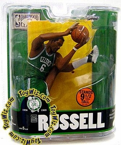 McFarlane Toys NBA Sports Picks Legends Series 3 Action Figure Bill Russell (Boston Celtics)