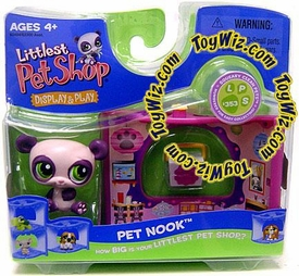 Littlest Pet Shop Series 2 Nook Figure Panda Bear in Chinese Take Out