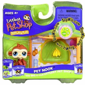 Littlest Pet Shop Series 1 Nook Figure Monkey