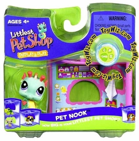 Littlest Pet Shop Series 1 Nook Figure Seahorse