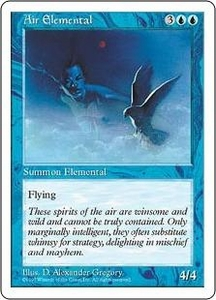 Magic the Gathering Fifth Edition Single Card Uncommon Air Elemental