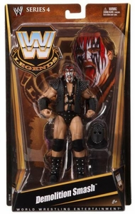 Mattel WWE Wrestling Legends Series 4 Action Figure Demolition Smash