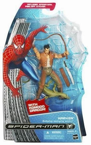 Spider-Man Hasbro Movie Action Figure Kraven [Bullwhip Swinging Action]