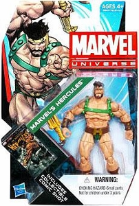 Marvel Universe 3 3/4 Inch Series 21 Action Figure #17 Marvel's Hercules