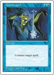Magic the Gathering Fifth Edition Single Card Common Counterspell