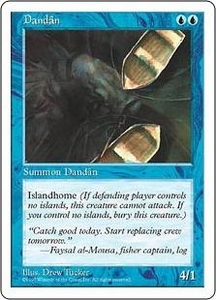 Magic the Gathering Fifth Edition Single Card Common Dandan