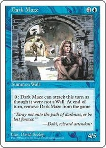 Magic the Gathering Fifth Edition Single Card Common Dark Maze