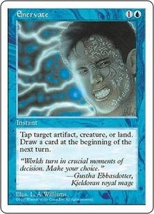 Magic the Gathering Fifth Edition Single Card Common Enervate