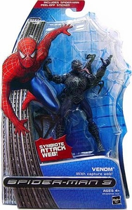Spider-Man 3 Hasbro Movie Action Figure Venom [Capture Web]