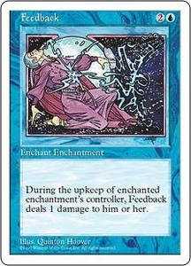 Magic the Gathering Fifth Edition Single Card Uncommon Feedback