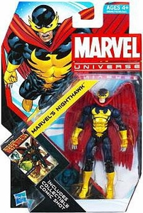 Marvel Universe 3 3/4 Inch Series 21 Action Figure #18 Marvel's Nighthawk