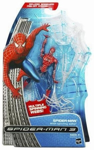 Spider-Man 3 Hasbro Movie Action Figure Spider-Man [Spinning Webs]