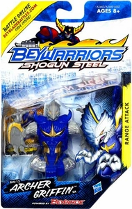 Beyblades Beywarriors Shogun Steel Range Attack BW-12 Archer Griffin