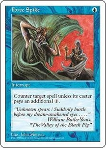 Magic the Gathering Fifth Edition Single Card Common Force Spike