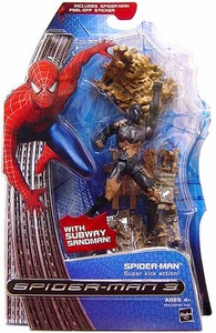 Spider-Man 3 Hasbro Movie Action Figure Spider-Man [Super Kick Action]