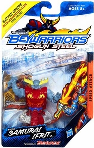 Beyblades Beywarriors Shogun Steel Speed Attack BW-01 Samurai Ifrit