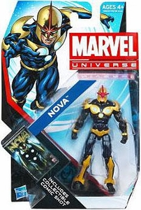 Marvel Universe 3 3/4 Inch Series 21 Action Figure #19 Nova