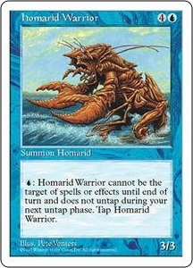 Magic the Gathering Fifth Edition Single Card Common Homarid Warrior
