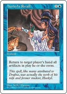 Magic the Gathering Fifth Edition Single Card Rare Hurkyl's Recall