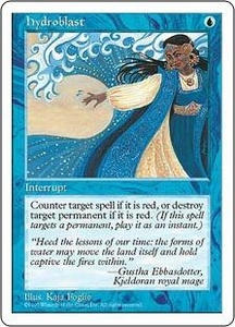 Magic the Gathering Fifth Edition Single Card Uncommon Hydroblast