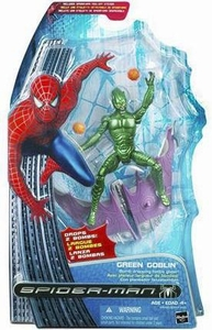 Spider-Man 3 Hasbro Movie Action Figure Green Goblin[Bomb Dropping Glider]