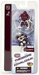 McFarlane Toys NHL 3 Inch Sports Picks Series 2 Mini Figure 2-Pack Jose Theodore (Montreal Canadiens) & Ilya Kovalchuk (Atlanta Thrashers)