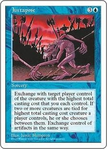 Magic the Gathering Fifth Edition Single Card Rare Juxtapose