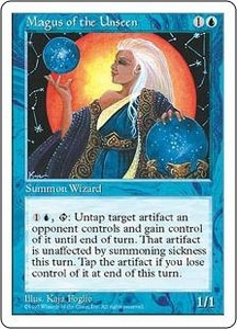 Magic the Gathering Fifth Edition Single Card Rare Magus of the Unseen