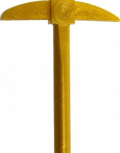 LEGO LOOSE Weapon Golden Pickaxe