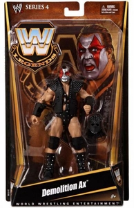 Mattel WWE Wrestling Legends Series 4 Action Figure Demolition Ax