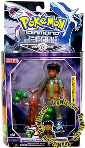 Pokemon Diamond & Pearl Exclusive Deluxe Action Figure Trainer Set Brock & Sudowoodo