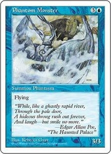 Magic the Gathering Fifth Edition Single Card Uncommon Phantom Monster