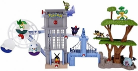 Pokemon Black & White Unova Region Playset