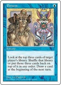 Magic the Gathering Fifth Edition Single Card Common Portent