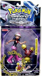 Pokemon Diamond & Pearl Exclusive Deluxe Action Figure Trainer Set Dawn & Buneary