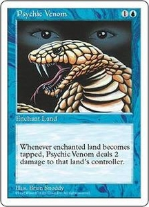 Magic the Gathering Fifth Edition Single Card Common Psychic Venom