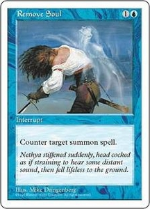 Magic the Gathering Fifth Edition Single Card Common Remove Soul