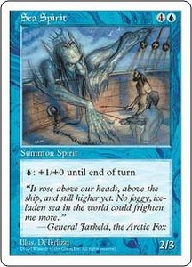 Magic the Gathering Fifth Edition Single Card Uncommon Sea Spirit