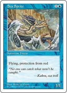 Magic the Gathering Fifth Edition Single Card Uncommon Sea Sprite
