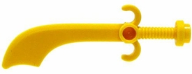 LEGO LOOSE Weapon Yellow Scimitar