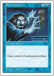 Magic the Gathering Fifth Edition Single Card Uncommon Steal Artifact