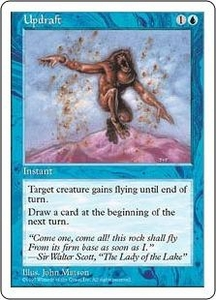 Magic the Gathering Fifth Edition Single Card Common Updraft