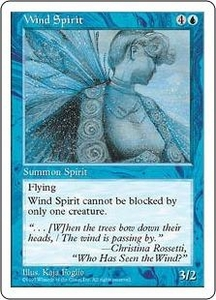 Magic the Gathering Fifth Edition Single Card Uncommon Wind Spirit