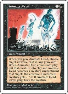 Magic the Gathering Fifth Edition Single Card Uncommon Animate Dead