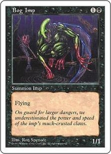 Magic the Gathering Fifth Edition Single Card Common Bog Imp