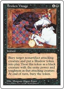 Magic the Gathering Fifth Edition Single Card Rare Broken Visage