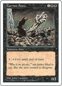 Magic the Gathering Fifth Edition Single Card Uncommon Carrion Ants