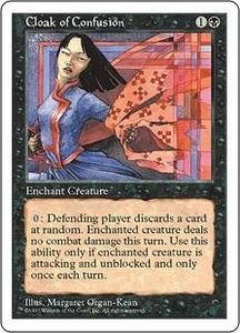 Magic the Gathering Fifth Edition Single Card Common Cloak of Confusion